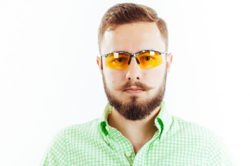 Водительские очки S01KG yellow