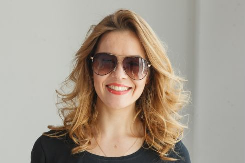 Женские очки капли 713c-40